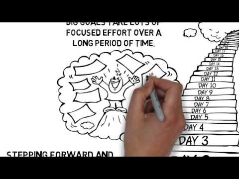 one-step-at-a-time---goal-achieving-cartoon-doodle-video