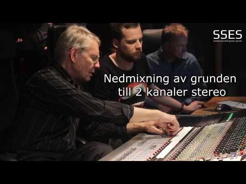 8-kanalsinspelning i Soundtrade Studios, Solna 2017-11-23