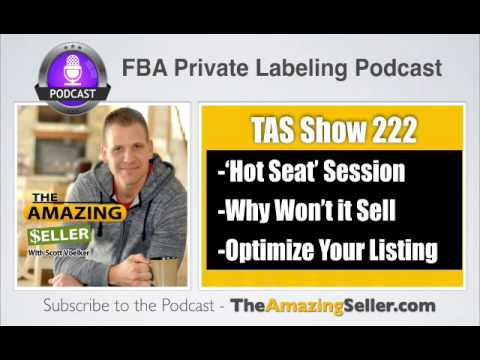TAS 222 : (HOT SEAT) MY PRODUCT JUST WON'T SELL (WHY?)