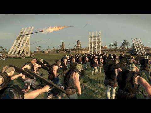 3000 Vikings vs 3000 Frank Crossbows Siege of Paris Attila Total War |