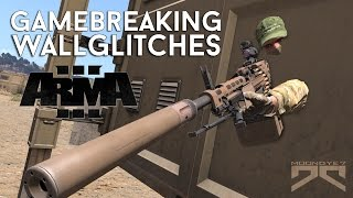 » GAMEBREAKING WALLGLITCHES in ARMA3 « - Move,Shoot or Look Through Walls [ENG]