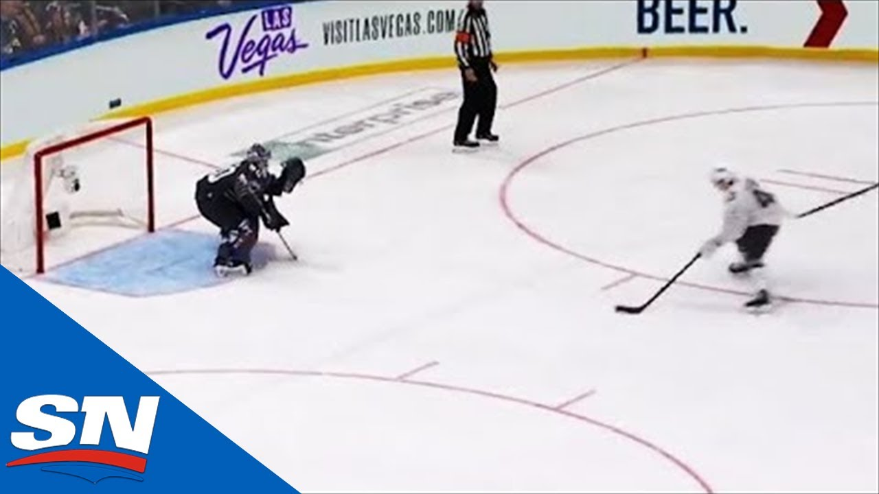 Quinn Hughes Shows Off Silky Mitts With Goal On Jordan Binnington