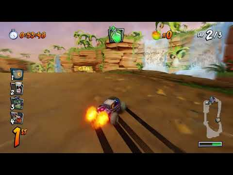 Crash Team Racing Nitro Fueled - Iron Checkpoint Crate Gameplay!