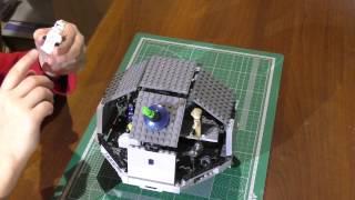 Звезда смерти из Лего. НЕ из набора. Звездные войны