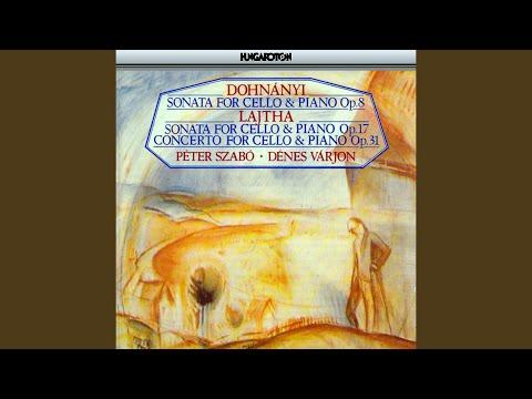 Concerto for Cello and Piano Op. 31: II. Ballade des Torches. Allegro agiato.