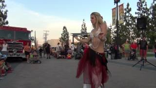 Lauren Belly Dance National Night Out El Cajon, California 2012
