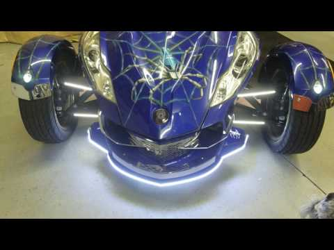 A-Arm Daytime Running LED's (Dual Color), Can-AM Spyder