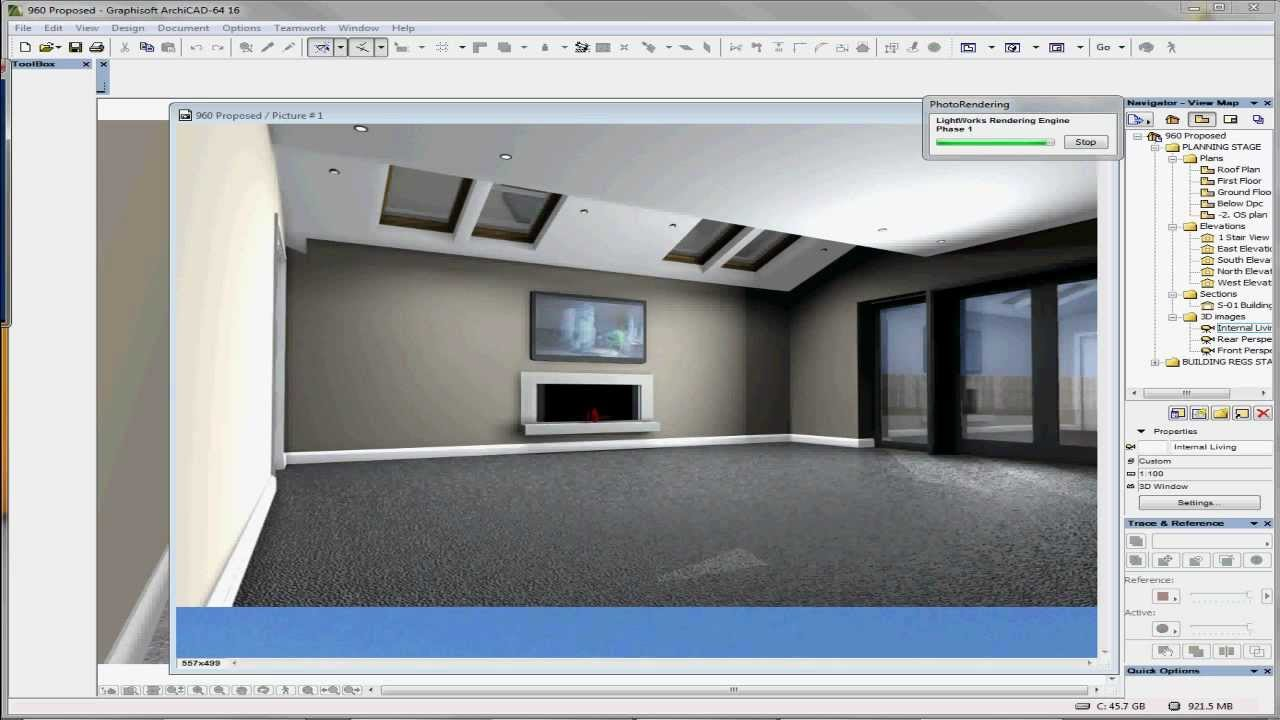 Archicad 16 Render First Look Youtube