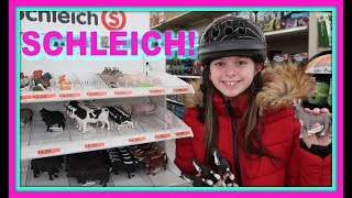 🐴Shopping For Schleich Horses And Horse Riding Gear!🐴 First Day TV