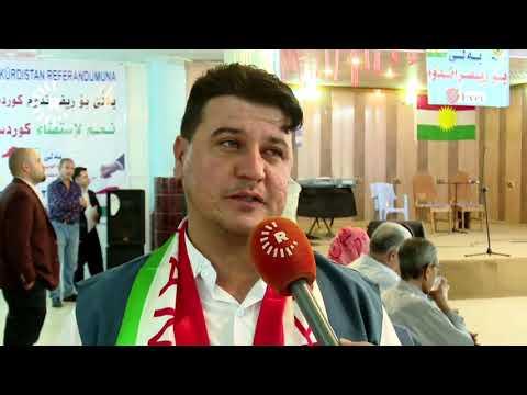 Başkent Erbil'deki Türkmen Evi'nde bugün referanduma destek etkinliği düzenlendi