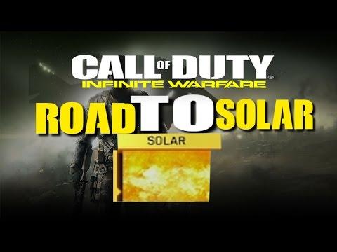 Call of duty infinite warfare  Road to SOLAR CAMMO Road to 30th prestige