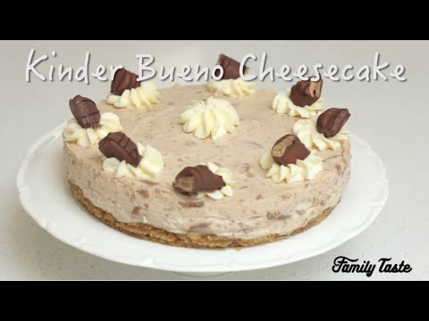 Kinder Bueno Cheesecake Youtube