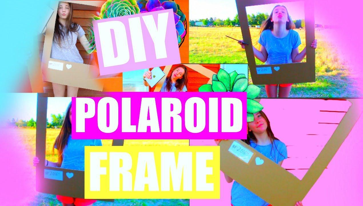 Life Size Polaroid Frame Youtube