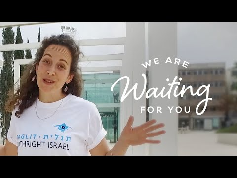 We Are Waiting For You - Tel Aviv L   Birthright Israel