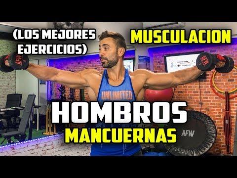 ejercicios caseros para fortalecer hombros