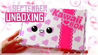 Kawaii Box - Unboxing September 2017