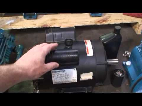Jenny Compressor Video P Electric Motor Start Cap R Amp R Avi
