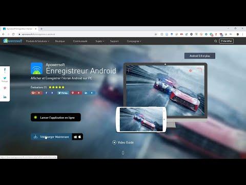 Comment Afficher L' Ecran De Votre Smartphone Sur Le PC Avec Apowersoft
