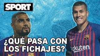 LOS FICHAJES DE INVIERNO DEL FC BARCELONA, CONGELADOS