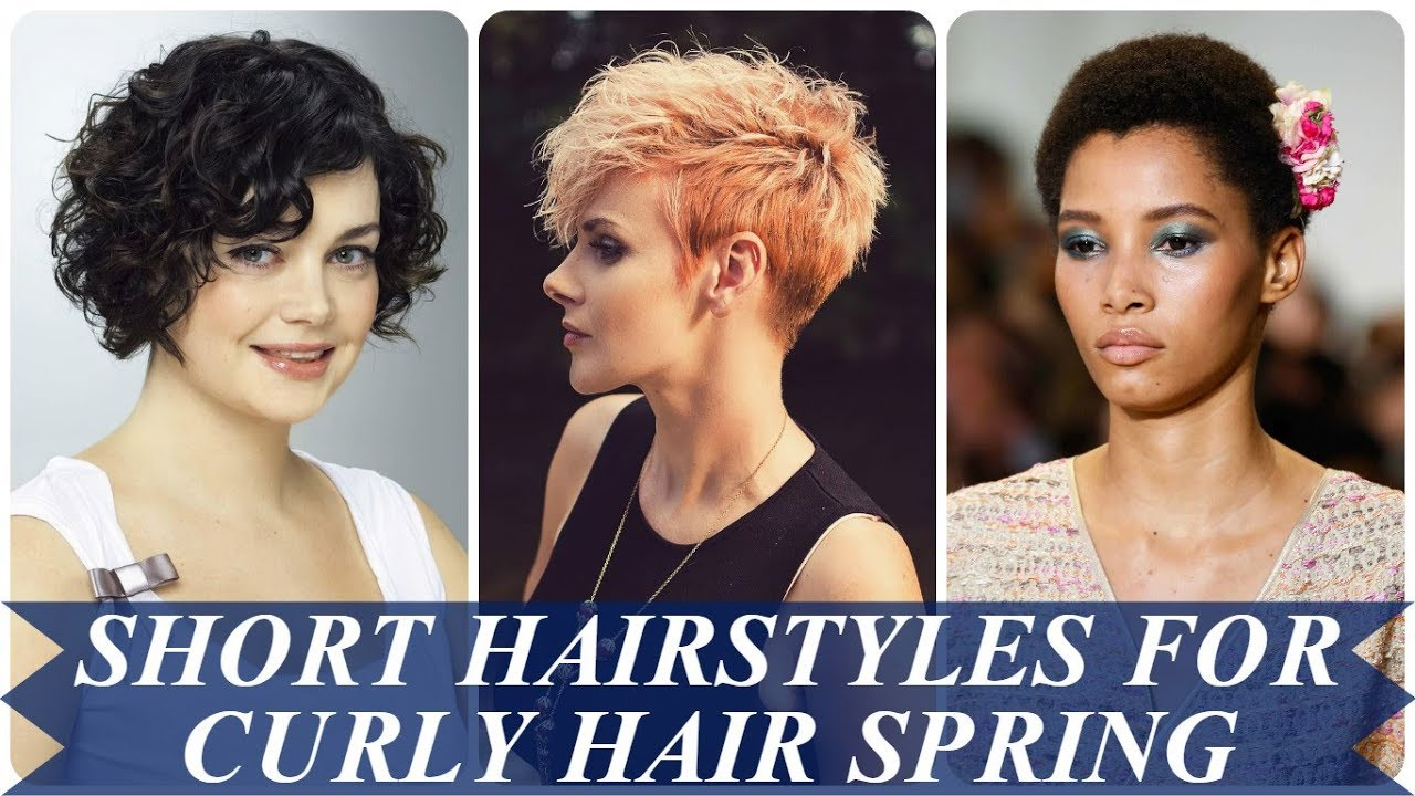 20 best ideas about short hairstyles for curly hair spring 2018