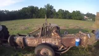 square baling with ih 46 white demonstrator 2016
