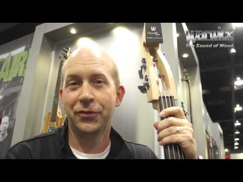 Warwick @ NAMM 2013 - The Rockbass Triumph Lite