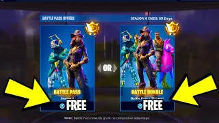 Fortnite: How To Get SEASON 6 Battle Pass For FREE! Season 6 Battle Pass + FREE V-Bucks Season 6
