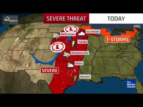 Damaging Wind, Hail Continues Today