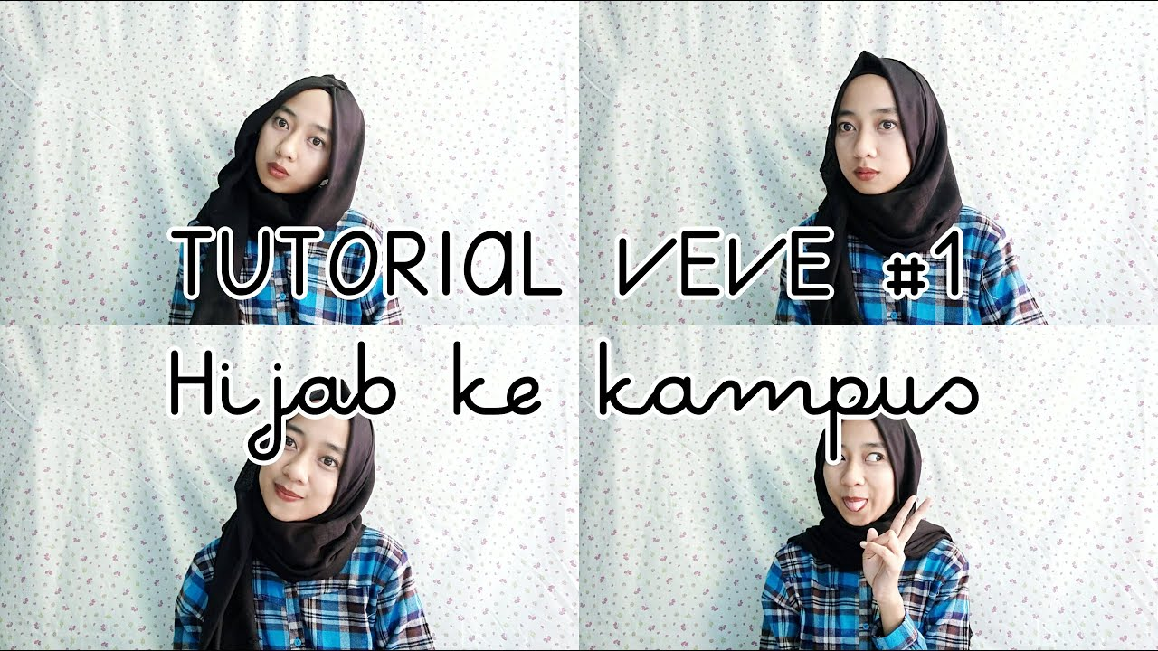 HIJAB SIMPLE KE KAMPUS 1 Savera Helena YouTube