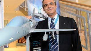 Farnborough 2016 . Aeropolis, incontro con Giuseppe Giordo, a.d. di Aero Vodochody