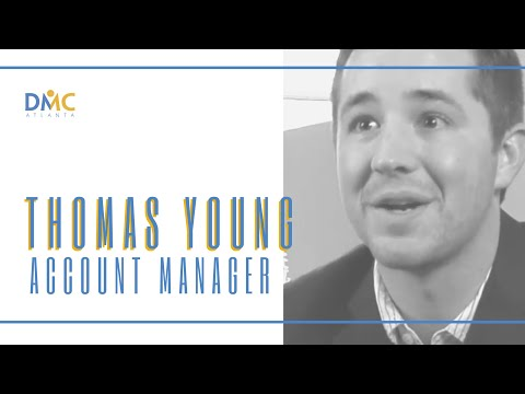 DMC Atlanta Account Manager Thomas Young
