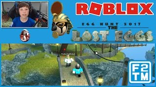 Egg of Ra / The Sands of Time Found | Roblox Egg Hunt 2017: The Lost Eggs #7