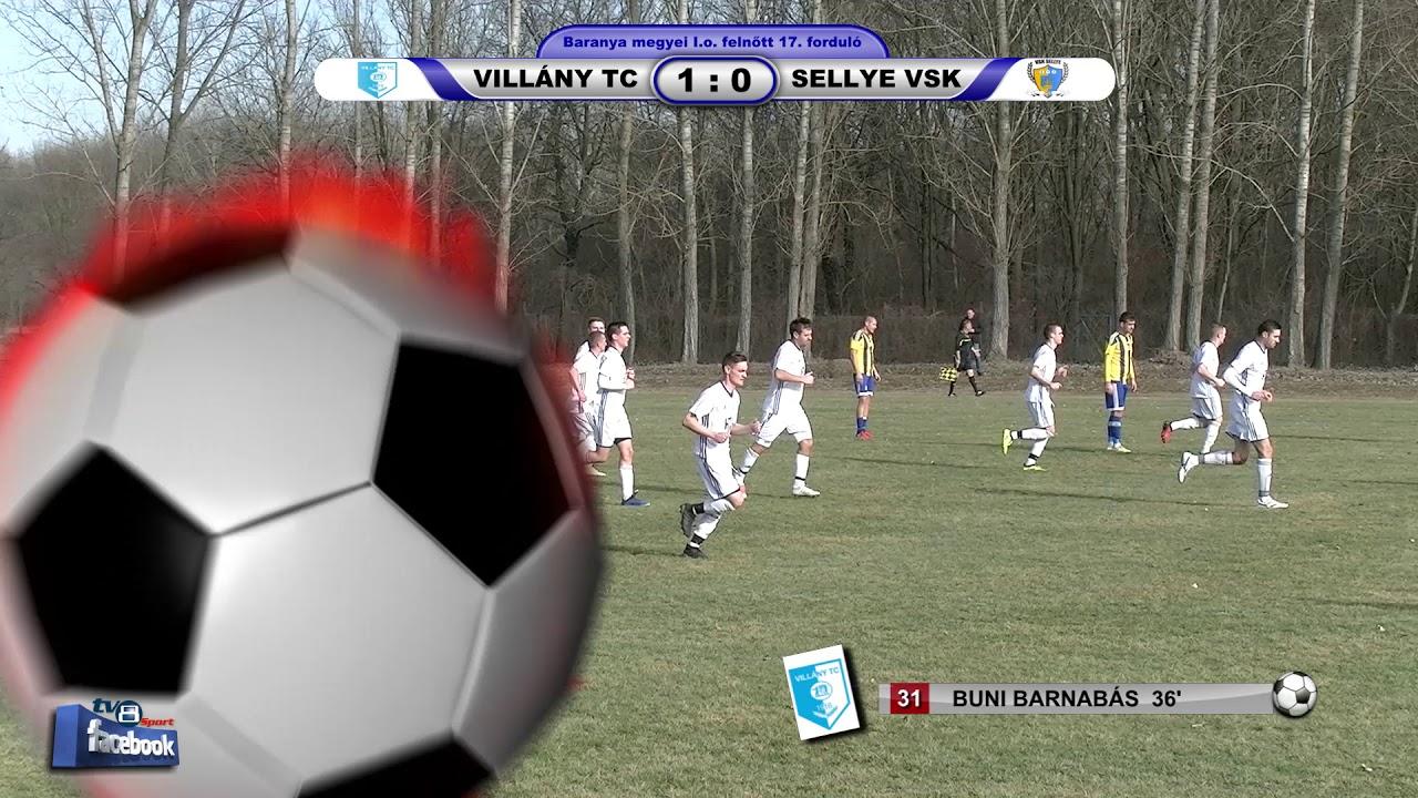 VILLÁNY TC - SELLYE VSK O ÉS R   2 - 0 (1 - 0)