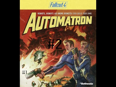 """Fallout 4 """"Automatron"""" DLC Gameplay #2 The Rust Devils 