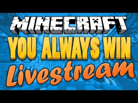 YOUALWAYSWIN LIVESTREAM PREMIERE | Spleef, Hide and Seek and Survival Games