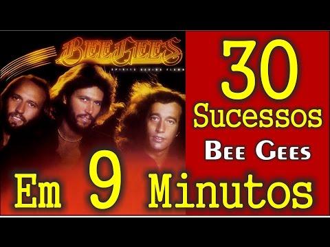 30 Sucessos dos Bee Gees em 9 Minutos! Com nome das Músicas!