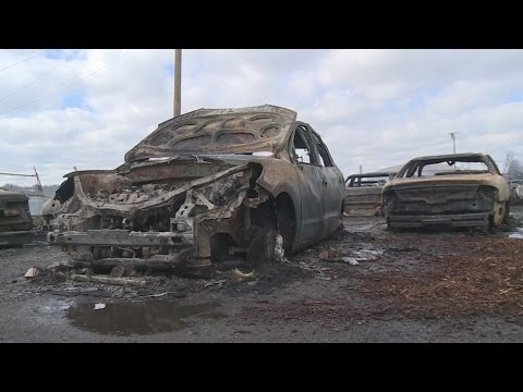 Lexington businesses survey their losses in stockyard fire