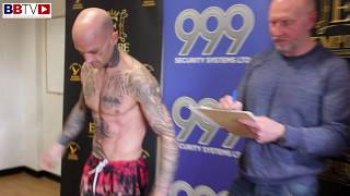 SIMON HOWARTH WEIGHS IN FOR PRO DEBUT ON SATURDAY