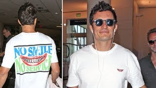 Orlando Bloom All Smiles When Asked If He And Katy Perry Are Back Together