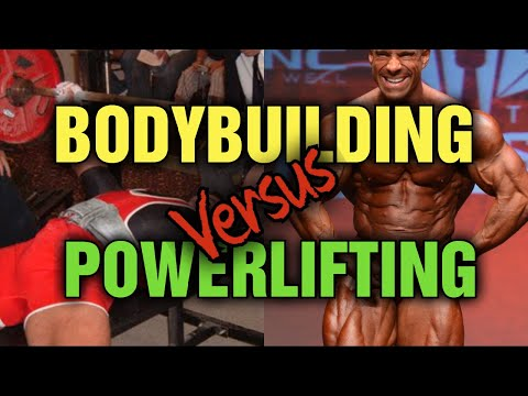 Which Is Harder Bodybuilding VS Powerlifting??? Strength VS Size Explained!!!