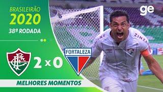 FLUMINENSE 2 X 0 FORTALEZA | MELHORES MOMENTOS | 38ª RODADA BRASILEIRÃO 2020 | ge.globo