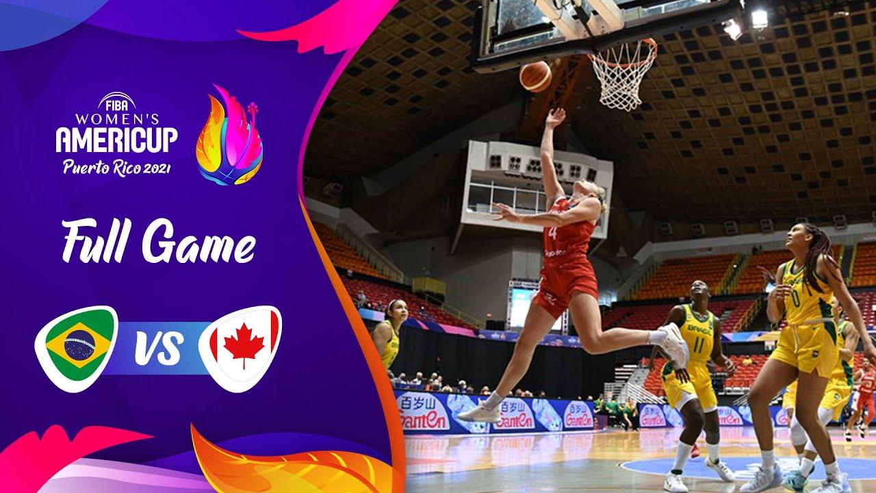 Brazil v Canada | Full Game - FIBA Women's AmeriCup 2021
