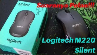 Suaranya Pelan...!!! Review Mouse Logitech M220 Silent!
