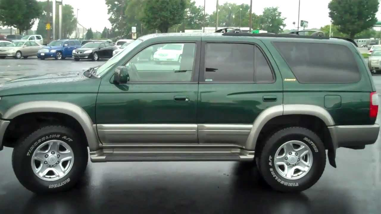 Amazing 1999 Toyota 4Runner Limited At Lochmandy Motors Elkhart