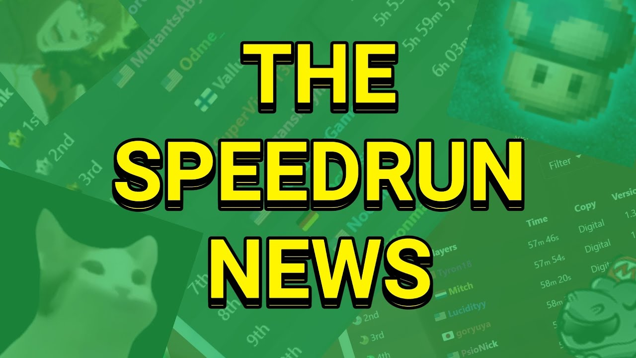 BREAKING NEWS! There was NO cheating in speedrunning last week! (RUSH 63)