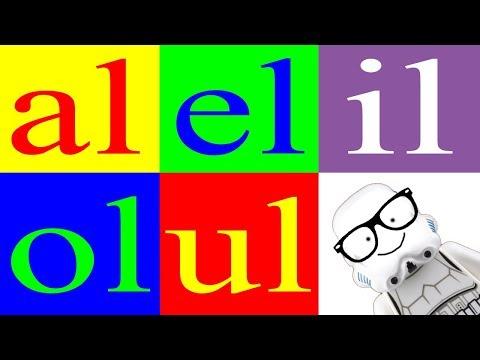 Aprender a Leer 25 – Sílabas al el il ol ul – La Letra l  - Canal Block 6