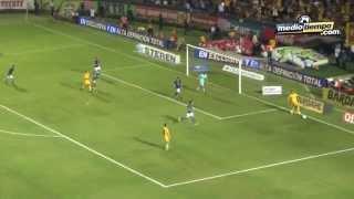 El gol del: Tigres vs Cruz Azul (1 - 0)
