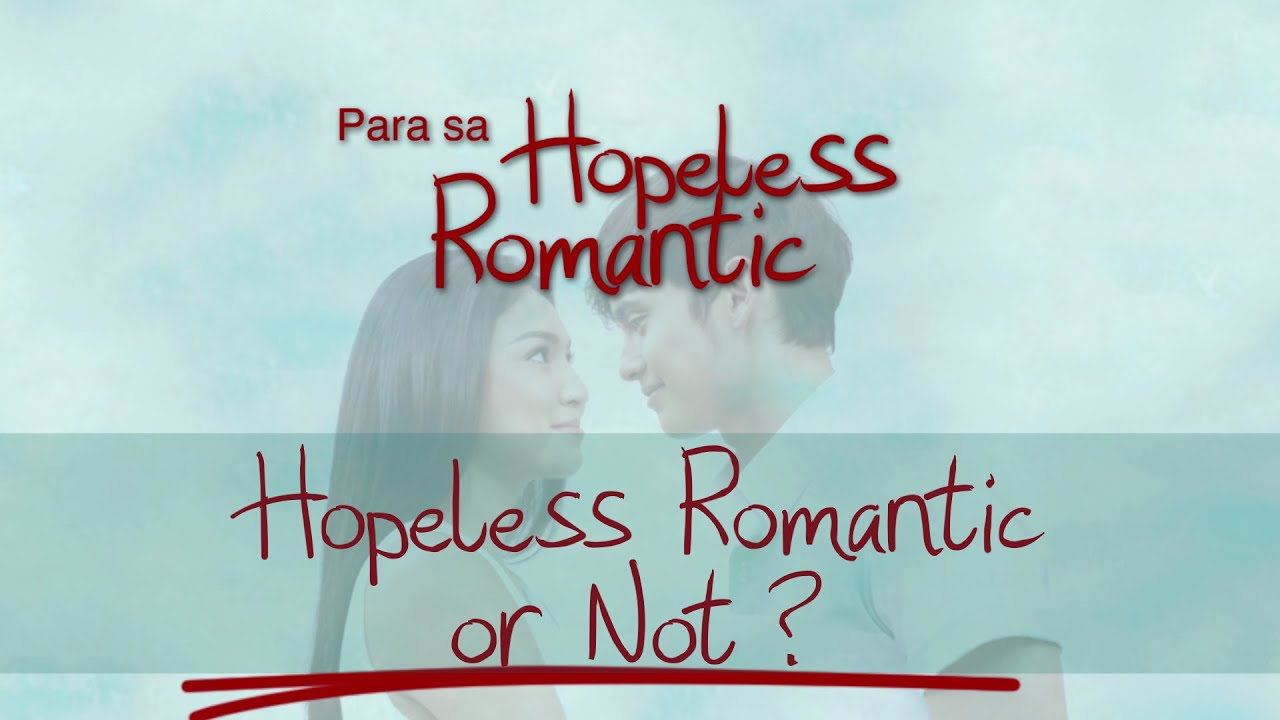 Hopeless romantic sa book para