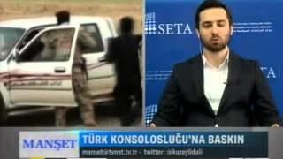 """Tvnet-Manset-Ali Değermenci-Turan Kıslakçı-13.06.2014""""Musul İşgali"""""""
