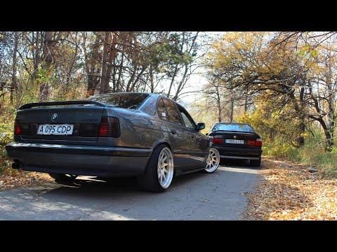 Гонка BMW E34 540 vs E34 1jz